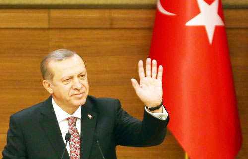 أردوغان يتهم واشنطن بتحويل المنطقة إلى «بركة دماء»