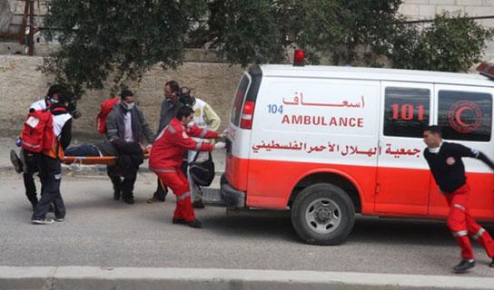 إصابة 11 مواطناً في حادث سير بجنين