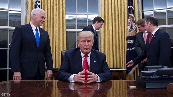 ترامب: إمكانية كبيرة لاتفاق سلام فلسطيني إسرائيلي
