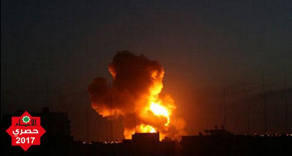 قصف مدفعي يستهدف نقطتي مراقبة وحشود للآليات شرق المغازي